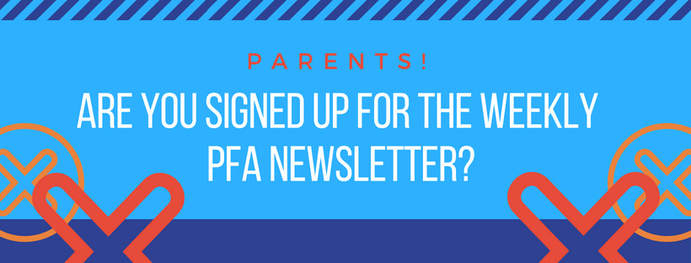 Sign up to receive the Bay Laurel PFA weekly newsletter!
